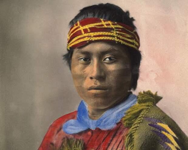 Подобный песне, индеец племени пуэбло, 1899 год.