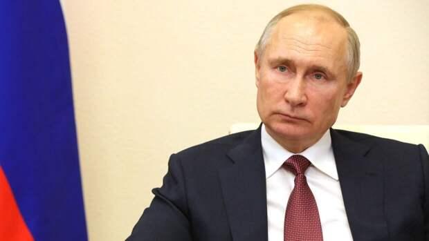Владимир Путин начал выступление на заседании ПМЭФ-2021