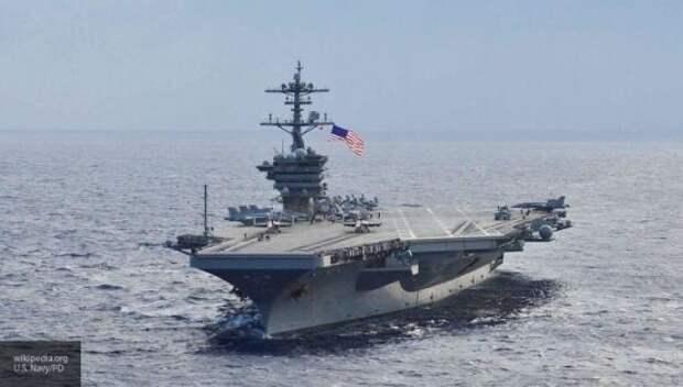 Ударная группировка военного флота НАТО потеряла боеготовность из-за коронавируса
