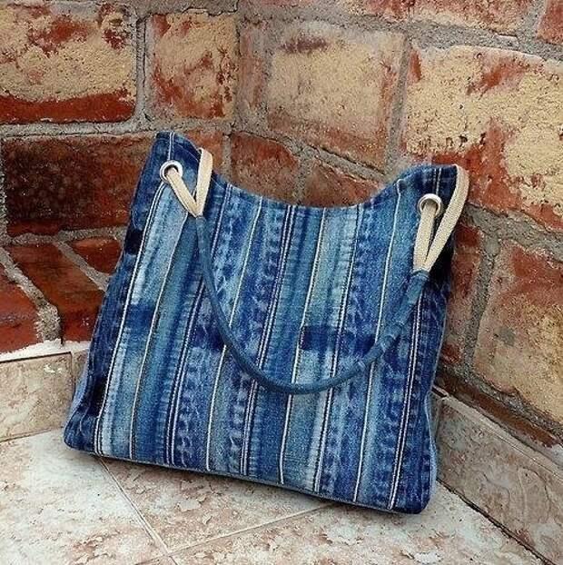Джинсовые сумки. Идеи