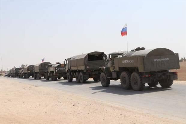 СМИ: Россия теснит США у нефтяных месторождений Сирии