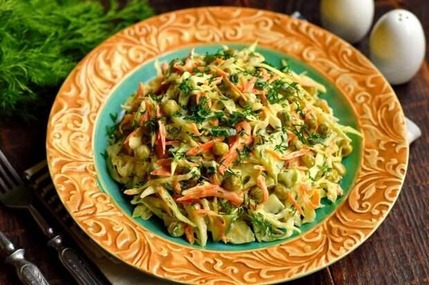 Салат «Овощное раздолье» — вкусное полезное блюдо