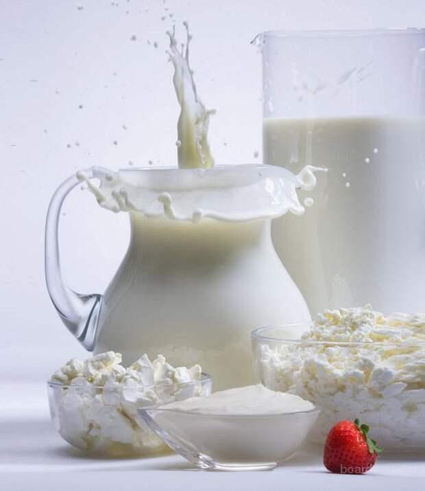 Молоко, кефир - мочегонное