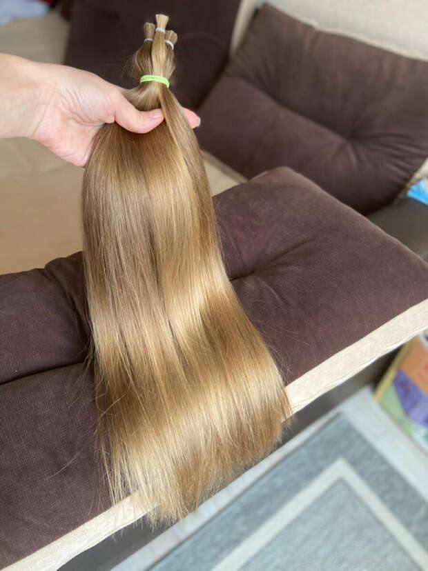Наращивание славянский срез детских волос