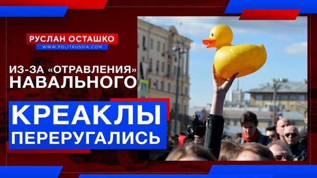 Креаклы переругались из-за «отравления» Навального