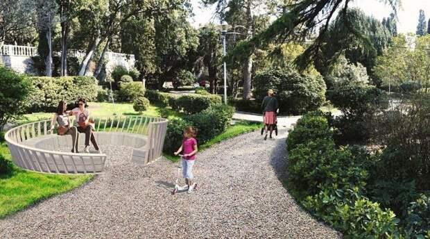 Власти Ялты намерены завершить вторую очередь благоустройства Симеизского парка в этом году
