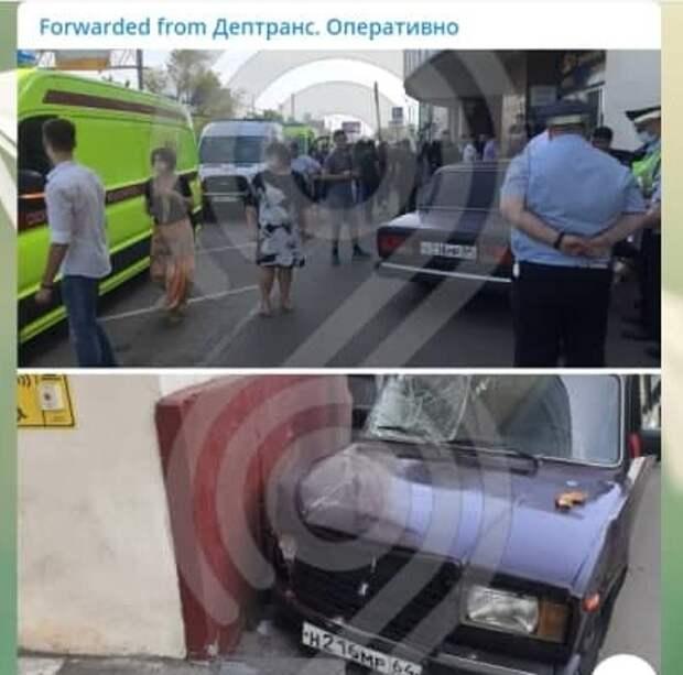 На пешеходов на Волгоградском проспекте наехал 17-летний подросток