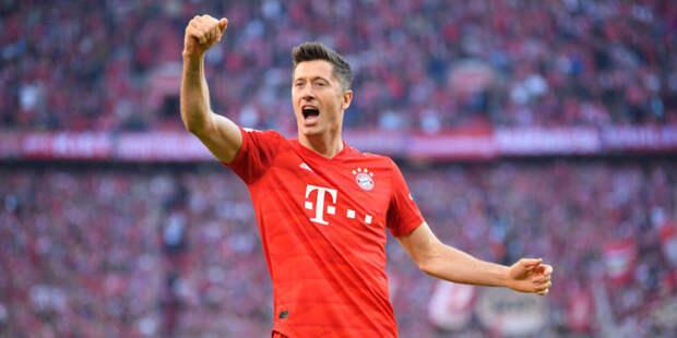Футболисты «Баварии» устроили Левандовски коридор после 40-го гола в Бундеслиге