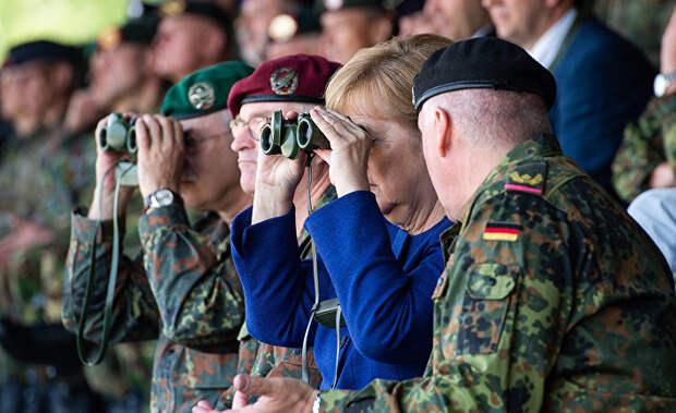 Майнити: Германия не боится угроз США, ведь у нее есть Россия