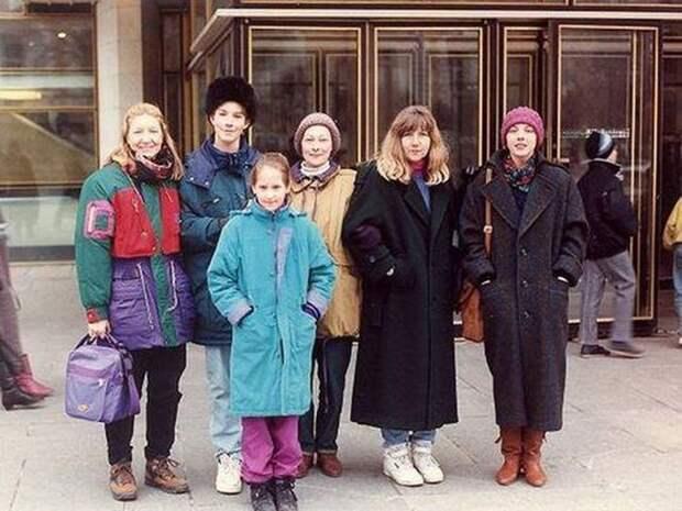 Модницы 90-х СССР, прошлое, фото