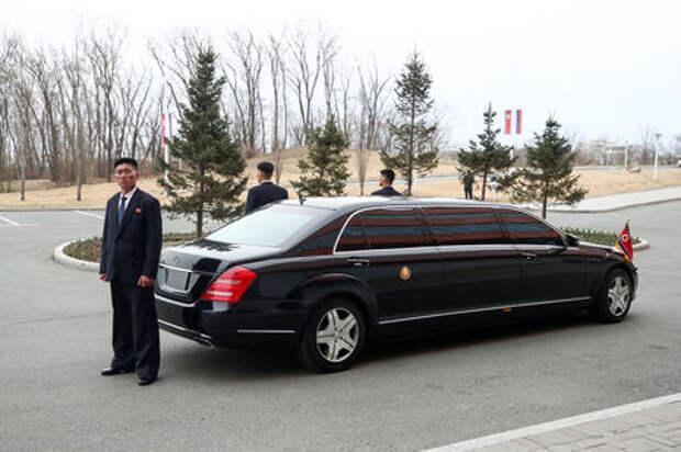 Загадка месяца: откуда у Ким Чен Ына бронированный Пульман за миллион?