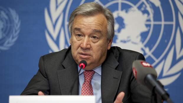 Офис генсека ООН: Гутерреш заинтересован в расширении сотрудничества с РФ