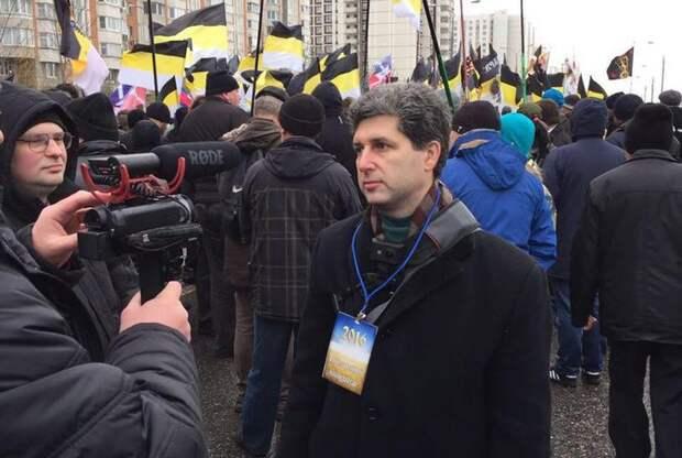 Русский националист Марк Израилевич Гальперин набирает революционный актив
