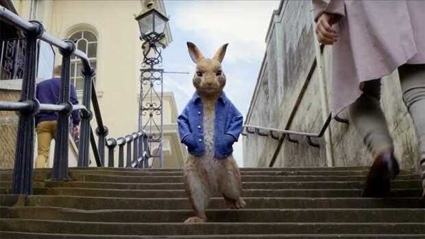 Новые приключения Кролика Питера — в прокате