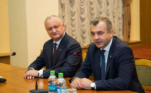 Премьер Молдавии видит своим преемником Додона