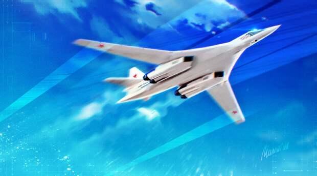 Российские ракетоносцы Ту-160 выполнили плановый 8-часовой полет над Балтийским морем
