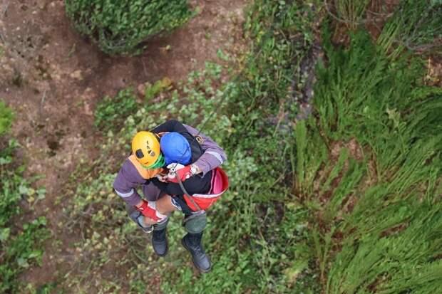 Пропавших в горах Сочи туристов нашли и эвакуировали