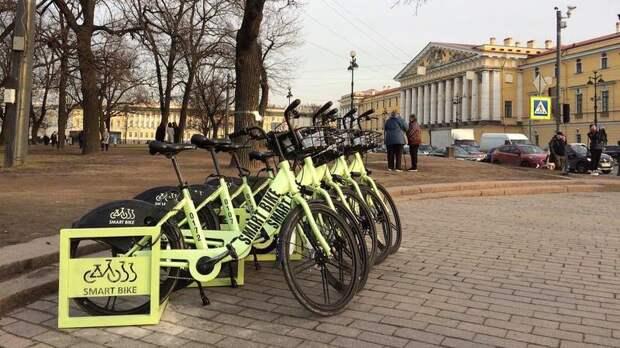 Взять напрокат велосипед в Петербурге стоит в два раза дороже, чем в Москве