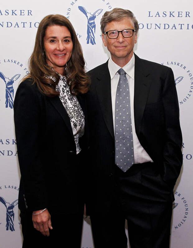 Билл и Мелинда Гейтсы