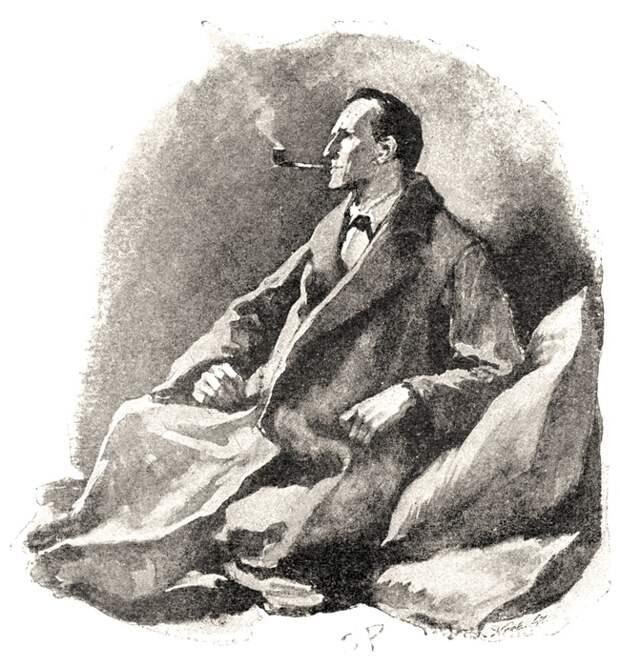 Не одна психиатрическая клиника в двадцатом веке могла похвастаться личным Шерлоком Холмсом.