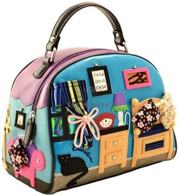 Аппликации на сумках