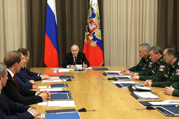 Путин заявил об успешном окончании испытаний зенитно-ракетного комплекса С-500