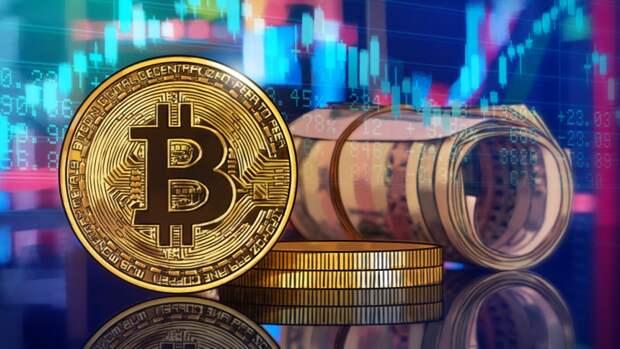 Курс биткоина продолжает падать в ходе торгов криптобирж