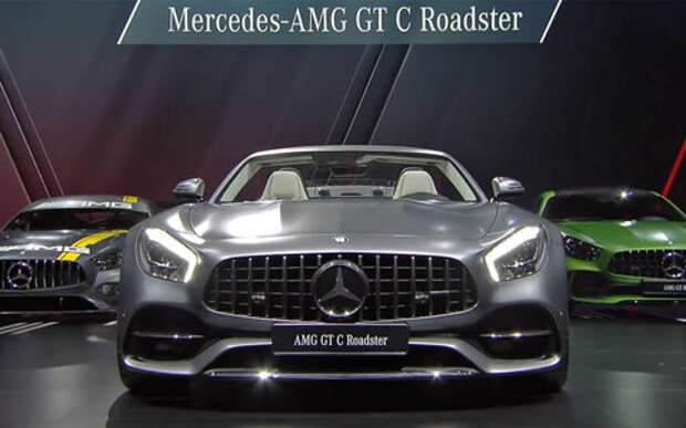 Удивительное рядом: Mercedes-AMG GT Roadster пошел своим путем