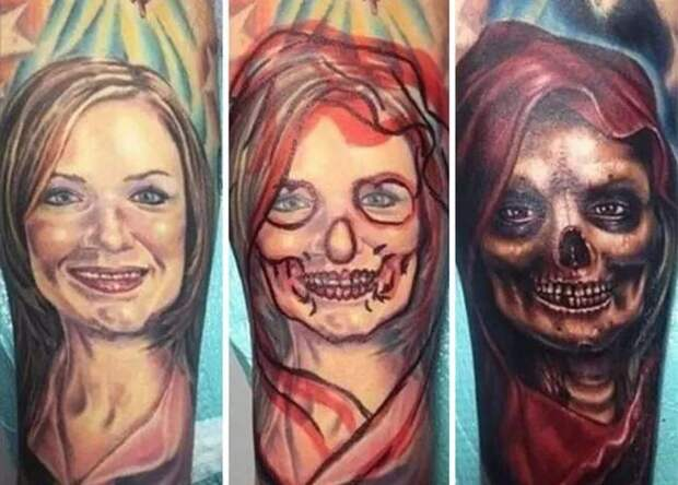 Когда любовь прошла: 25 перекрытий татуировок, посвященных бывшим