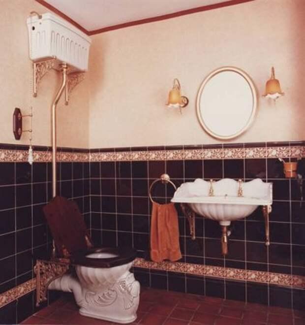 Викторианский Ванная комната by Celia James