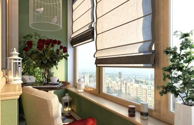Шторы для балкона или лоджии: 5 советов, как подобрать идеальный вариант
