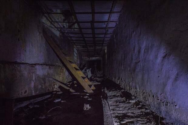 Чертовщина на старом заводе.