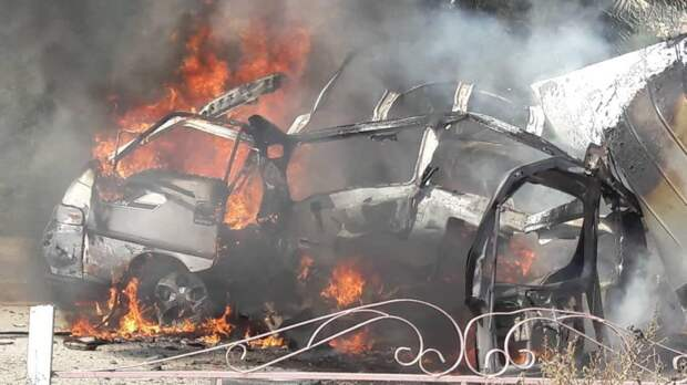 Курдские террористы устроили взрыв на севере Ракки