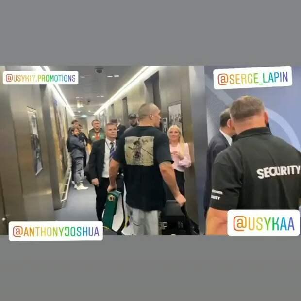Александр Усик вернул Энтони Джошуа чемпионские пояса после победы над ним
