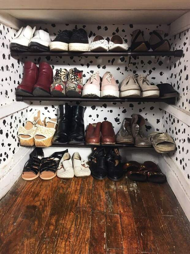 Обувь на карнизах