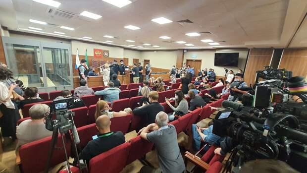 В Казани начался суд по избранию меры пресечения казанскому стрелку