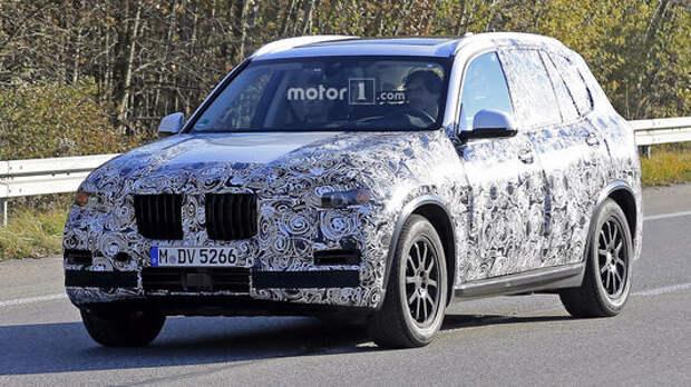 Новый BMW X5 готовится к старту