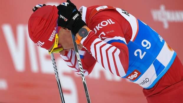 Большунов не выступит в гонке на 50 км в чемпионате России