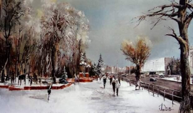 художник Александр Леднёв картины – 17