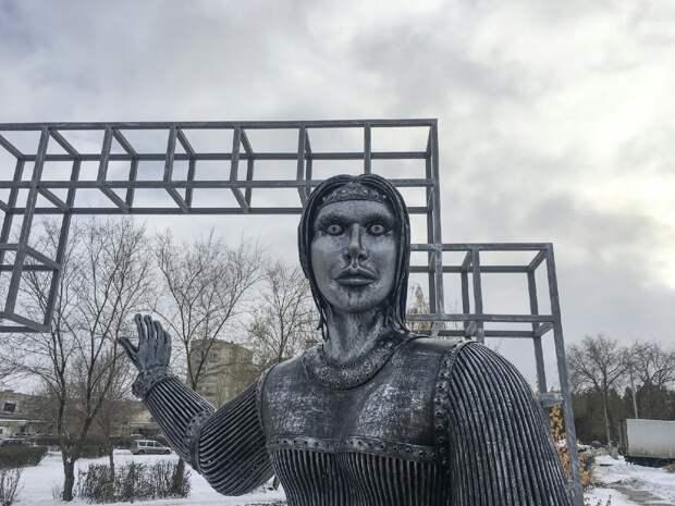 2,6 млн рублей заплатили за «прославивший» Нововоронеж памятник Аленке