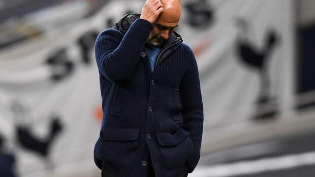 «Манчестер Сити» набрал 8 очков в12 матчах, это худший результат вкарьере Гвардьолы