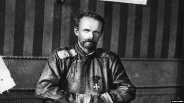 Барон Роман Унгерн фон Штернберг после взятия его в плен большевиками и незадолго до расстрела, сентябрь 1921 года