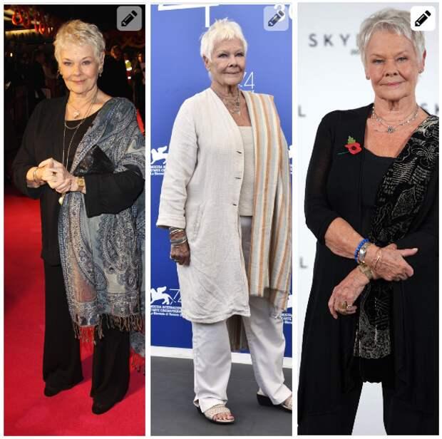 Элегантна в свои 85, хотя и не всегда модна: особенности стиля Джуди Денч