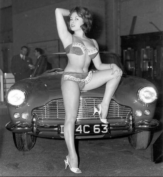 Джун Палмер— британская пинап-модель, отнявшая лавры секс-символа уамериканок