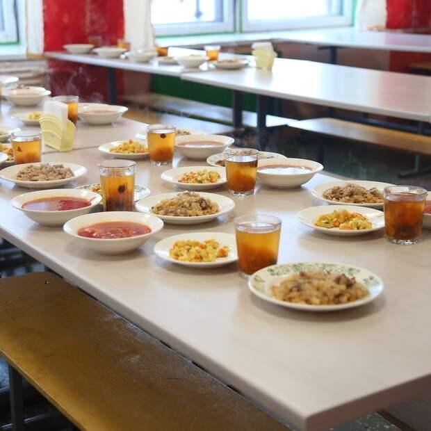 В Ижевске более 45 тысяч школьников обеспечат бесплатным горячим питанием