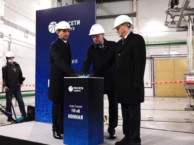 «Россети» запустили новую подстанцию 110 кВ «Конная» в Санкт-Петербурге