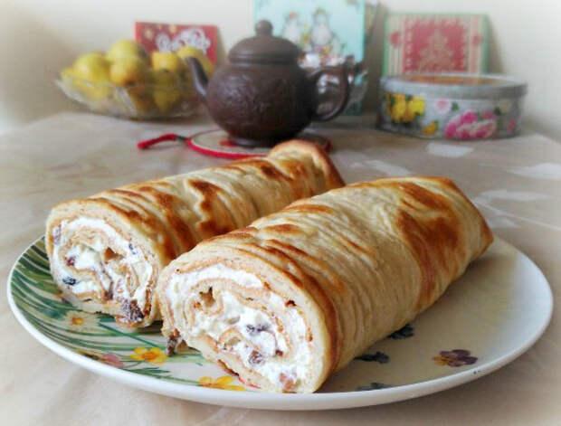 Ленивые финские блины с творогом - быстрый, вкусный и полезный завтрак