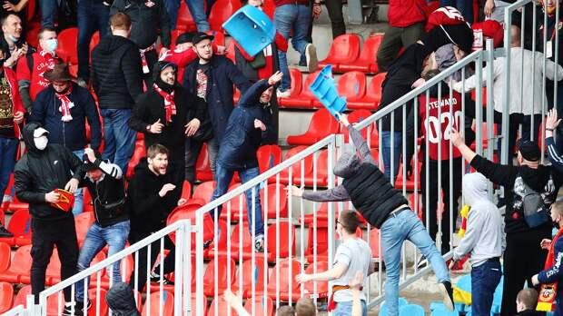 «Арсенал» и «Спартак» получили почти миллион рублей штрафа на двоих за нарушения во время очного матча