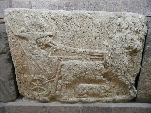 Хетты были известны как прекрасные колесничие