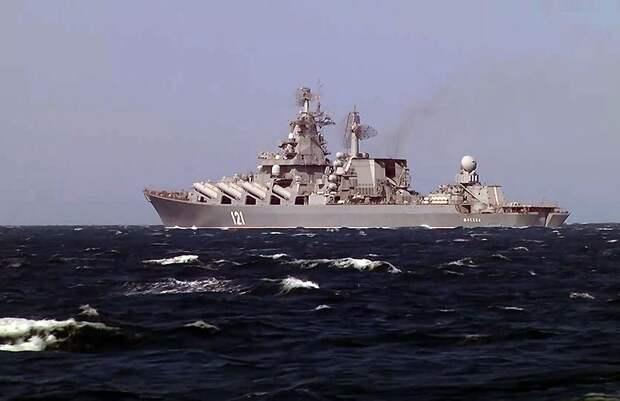 «Москва» и «Адмирал Эссен» направились в Средиземное море